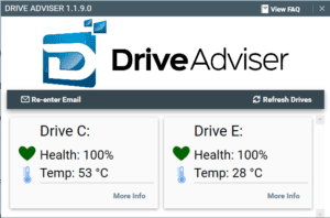 Drive Adviser Tests Solid State and Mechanical Hard Drive Health